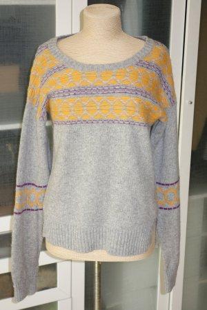Dear Cashmere Wool Sweater multicolored wool