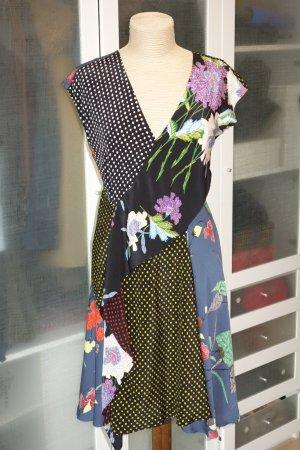Diane von Furstenberg Abito multicolore Seta