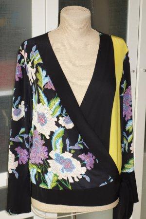 Diane von Furstenberg Camicetta aderente multicolore Seta