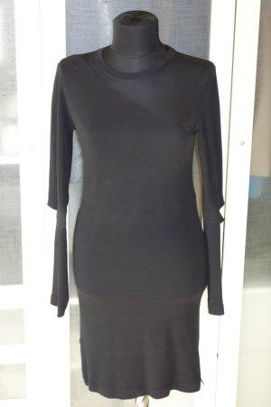 Org. DIESEL Kleid mit cut outs und Mesh-Einsatz schwarz Gr.XS