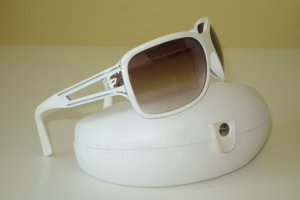 Org. DIESEL Sonnenbrille weiß/silber inkl.Etui