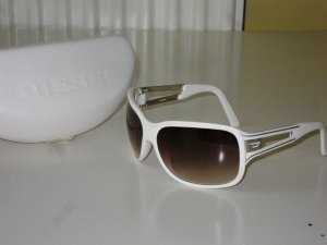 Org. DIESEL Sonnenbrille weiss wie neu inkl. Etui