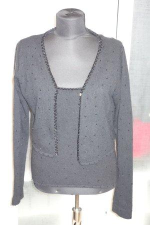 DKNY Twin set in maglia nero