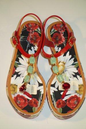 Dolce & Gabbana Sandalias con talón descubierto multicolor