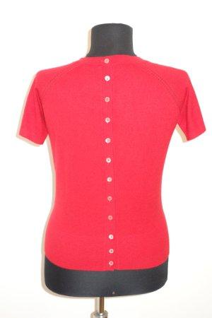 Dolce & Gabbana Camicia maglia rosso Cachemire