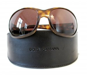 Dolce & Gabbana Sunglasses brown red-brown synthetic material