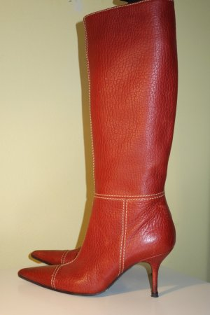 Org. DOLCE & GABBANA black label Stiefel in rot Gr.37