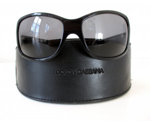 Dolce & Gabbana Sunglasses black synthetic material