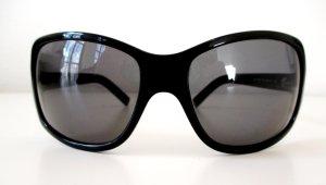 """Org. Dolce & Gabbana Sonnenbrille """"Black Label""""/Schwarz/Vollrand/Kunststoff"""