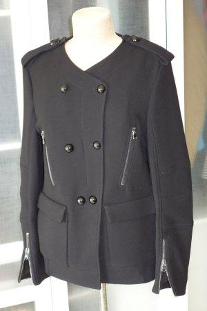 Org. DOROTHEE SCHUMACHER Caban Jacke in schwarz aus Wolle schwarz Gr.42