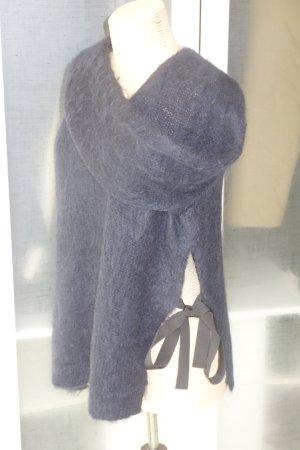 Org. DOROTHEE SCHUMACHER Grobstrick-Pullover Mohair mit Schleifen Gr.XL