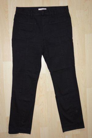 Org. DOROTHEE SCHUMACHER Jeans schwarz mit cut outs Gr.40