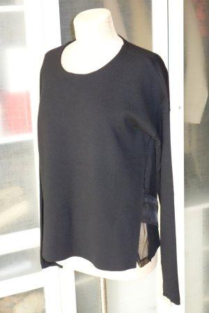 Org. DOROTHEE SCHUMACHER Pullover mit Details in schwarz Gr.40