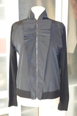 Org. DOROTHEE SCHUMACHER Zip-Jacke mit Details schwarz Gr.40