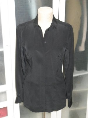Org. DRYKORN for beautiful people Seidenbluse schwarz Gr.38