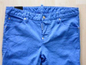 """Org. DSQUARED """"Cool girl"""" Jeans in royal blau Gr.38/40"""