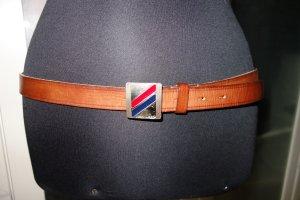 Org. DSQUARED Ledergürtel mit Metallspange