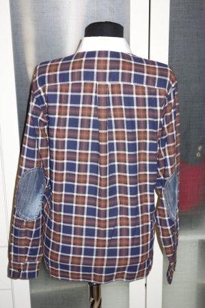 Org. DSQUARED oversized Bluse kariert Gr.36