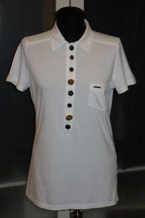 Org. DSQUARED Polo-Shirt mit verzierten Knöpfen Gr.38/40