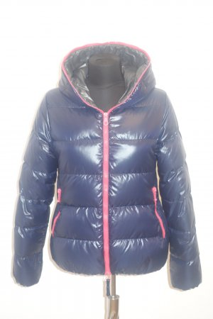 Duvetica Down Jacket dark blue-red