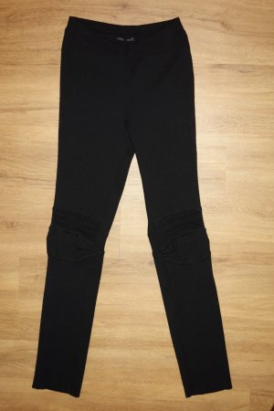 Ermanno Scervino Woolen Trousers black new wool