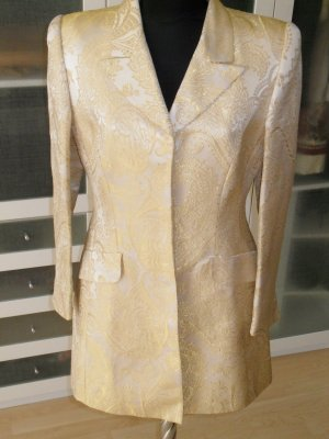 Org. ESCADA Couture Brockat Mantel gold Gr.38