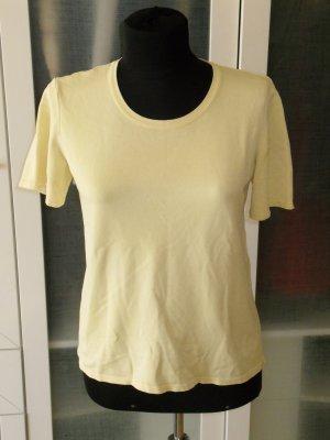 Org. ESCADA Strick-Shirt in gelb Gr. 42