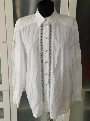 Org. ESCADA vintage Bluse mit cut outs Gr.40