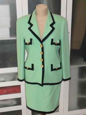 Escada Ladies' Suit neon green-black