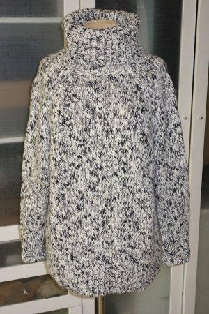 ESISTO Coarse Knitted Sweater natural white-black