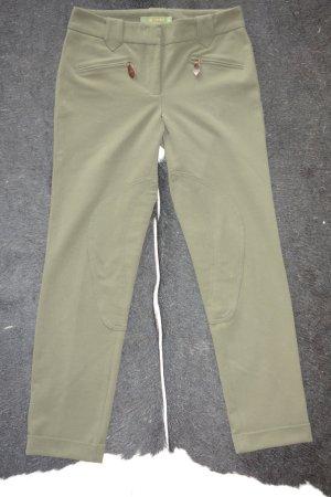 Etro Riding Trousers khaki-olive green