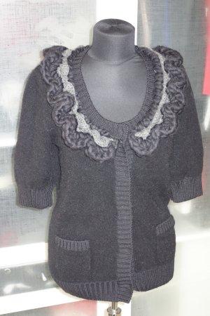 Fendi Giacca in maglia nero