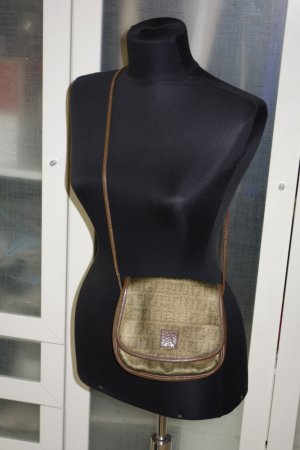 Fendi Borsa a spalla bronzo-marrone Pelle