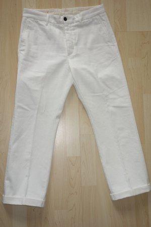 Jeans bianco Cotone