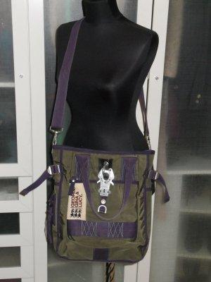 Org. GEORGE GINA & LUCY Tasche dunkelgrün/violett