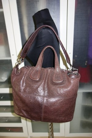 Givenchy Sac à main brun foncé cuir
