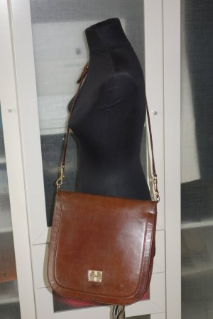 Org. GIVENCHY vintage Umhängetasche/Crossbody bag in dunkelbraun top