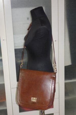 Org. GIVENCHY vintage Umhängetasche/Crossbody bag in dunkelbraun top