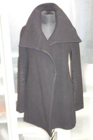 Org. GIVENCHY Wollmantel schwarz Gr.34/36