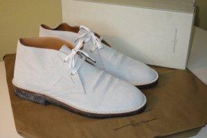 Golden Goose Chukka boot gris clair daim