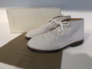 Golden Goose Desert Boots light grey-black suede
