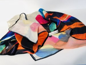 Golden Goose Silk Cloth multicolored silk