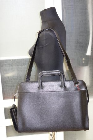 Gucci Briefcase black leather