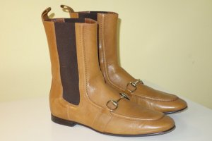 Gucci Chelsea Boots light brown