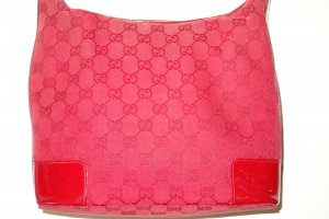 Org. GUCCI Tasche Monogram Canvas rot top