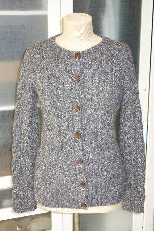 Hartford Veste tricotée en grosses mailles gris foncé-gris
