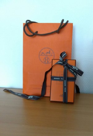 Org. HERMES Carre, Tuch Knotting Cards mit Tüte