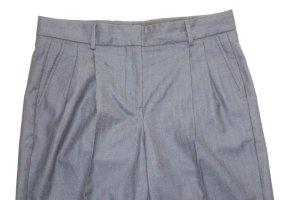Woolen Trousers dark blue-bordeaux new wool