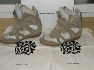 Org. ISABEL MARANT Beckett hi-top Sneaker sold out Gr.39 inkl.Karton+Dustbag