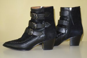 Org. ISABEL MARANT Black Dickey Mod Boots Gr.37 inkl.Karton+Dustbags